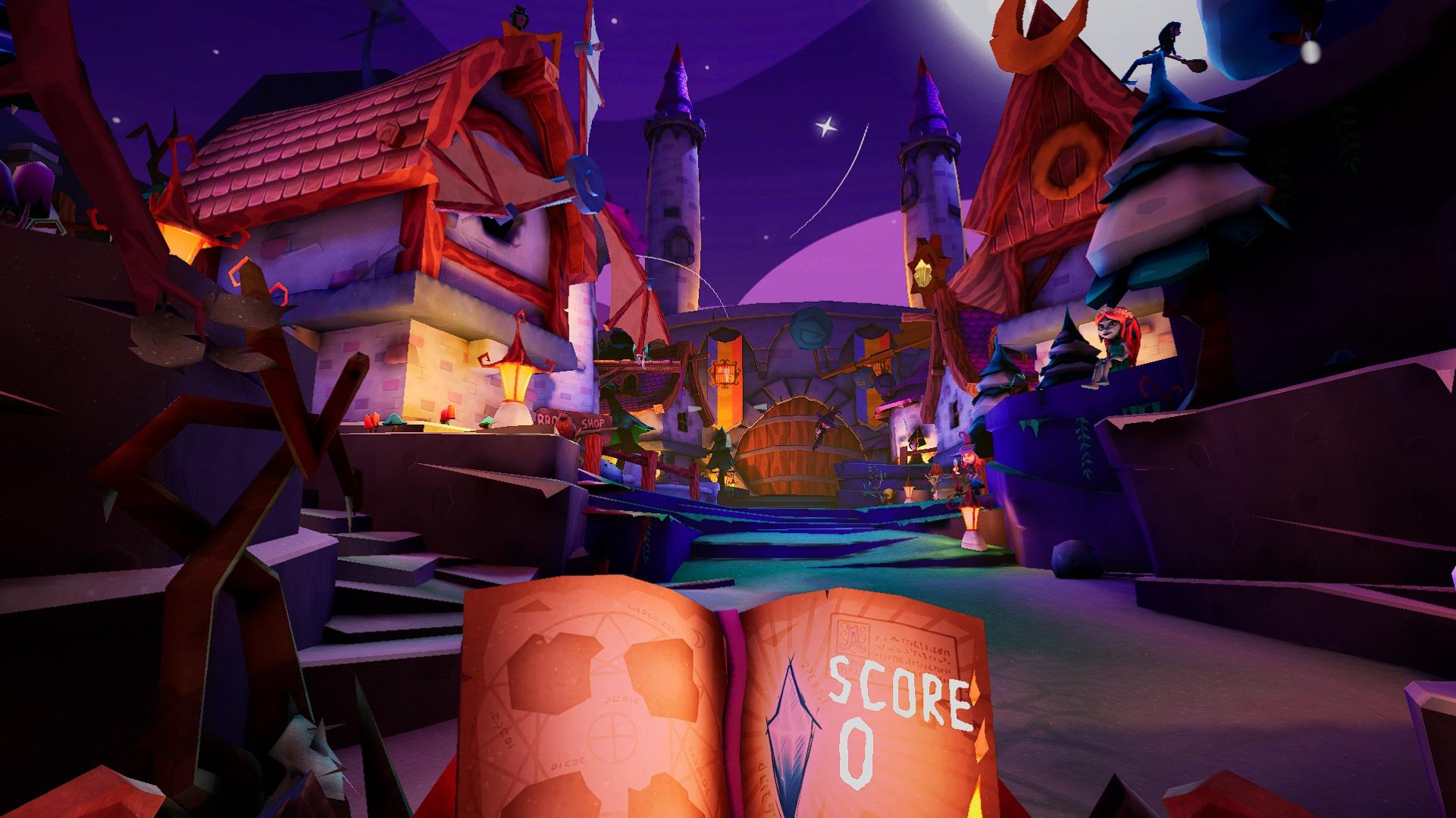 Magic Quest   Ascent - Witch's Village